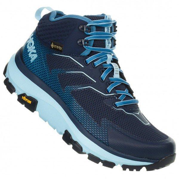 ホカ オネオネ ◆ Toa GTX ウーマン(Black Iris / Aquamarine) ★ 登山靴 ・ 靴 ・ 登山 ・ アウトドアシューズ ・ 山歩き ★