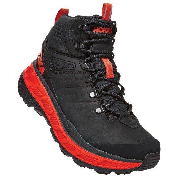 ホカ オネオネ ◆ Stinson Mid GTX(Anthracite / Mandarin Red) ★ 登山靴 ・ 靴 ・ 登山 ・ アウトドアシューズ ・ 山歩き ★