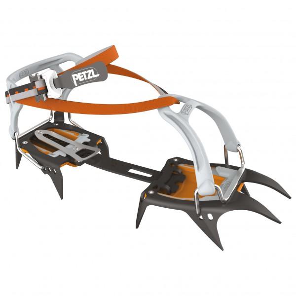 PETZL ペツル Irvis Flexlock(Black / Orange)★ウインターギア・アイゼン・クランポン・雪山装備★