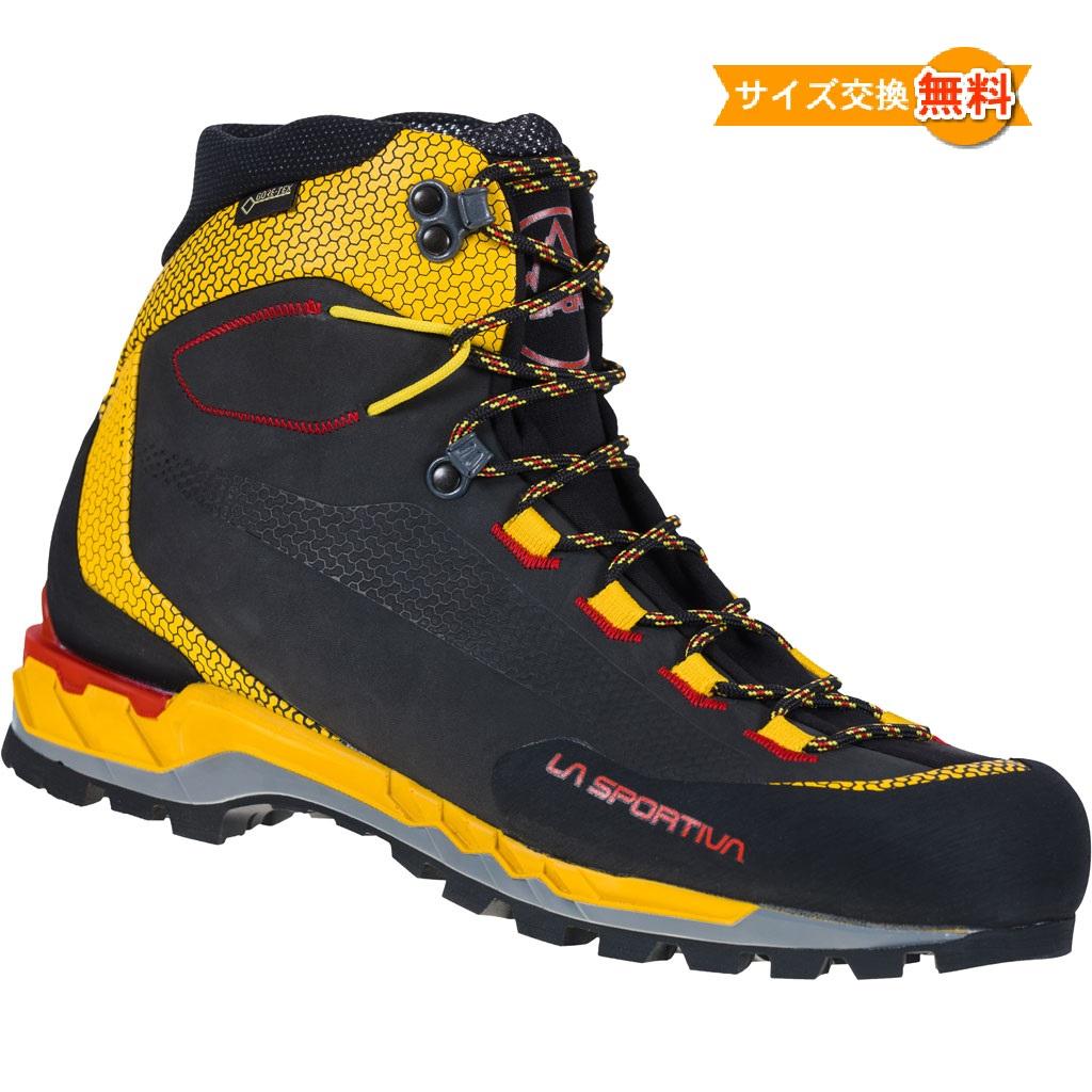 La Sportiva Trango Tech Leather GTX 即納 スポルティバ トランゴ 推奨 Yellow 登山靴 Black レザー アウトドアシューズ 靴 登山 山歩き 正規認証品 新規格 テック
