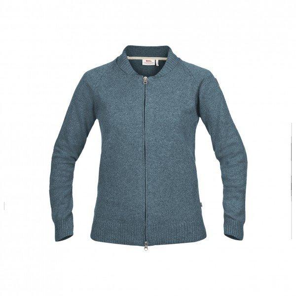 フェールラーベン Ovik Re-Wool ジップジャケット レディース(Dusk)