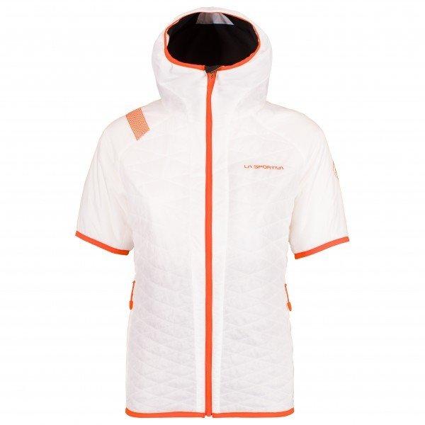 スポルティバ Firefly ショートスリーブジャケット レディース(White / Pumpkin)