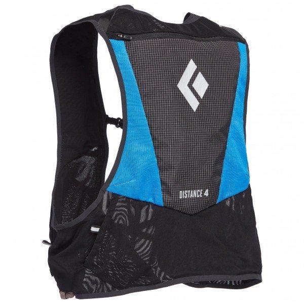 大注目 BLACK 激安価格と即納で通信販売 DIAMOND Distance 4 Hydration Blue Ultra ブラックダイヤモンド Vest