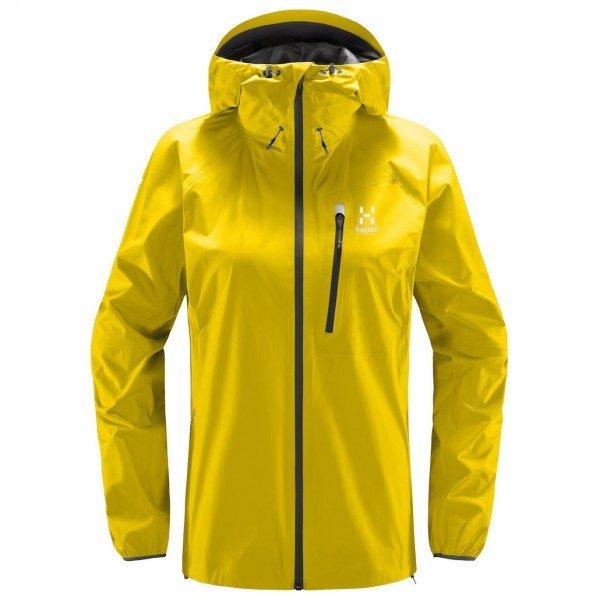 ホグロフス L.I.M ジャケット レディース(Signal Yellow)
