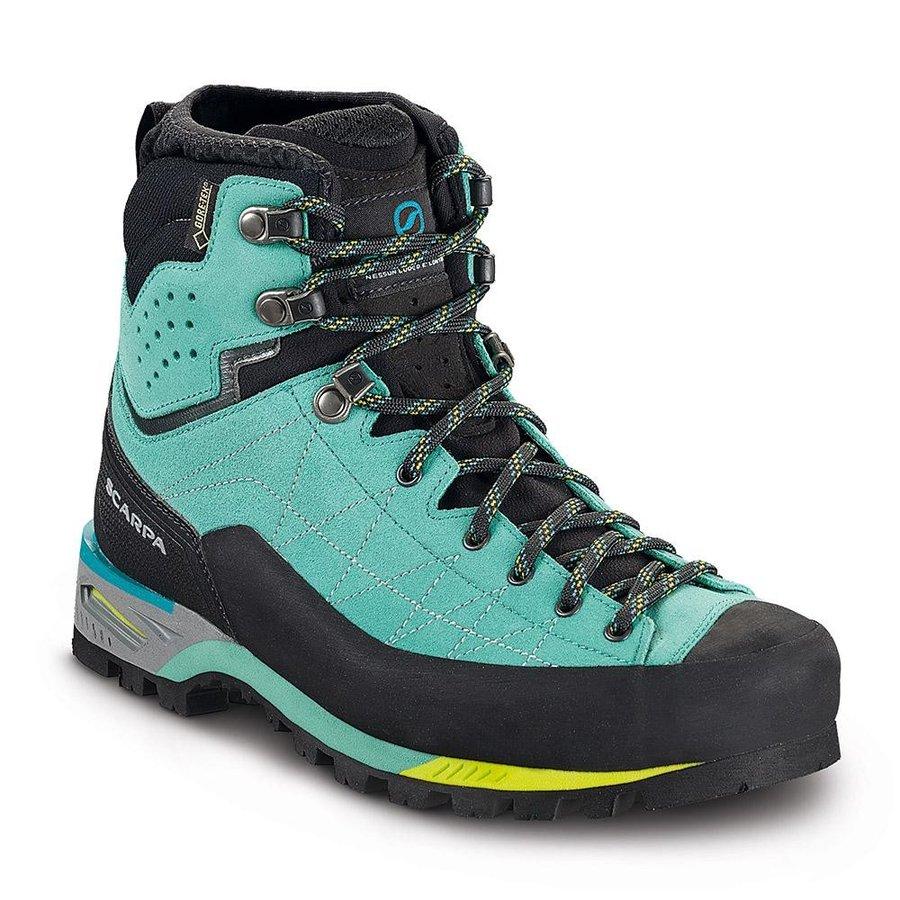 [ スカルパ ] Zodiac Tech GTX ウーマン ( Green / Blue ) ★ 登山靴 ・ 靴 ・ 登山 ・ アウトドアシューズ ・ 山歩き ★