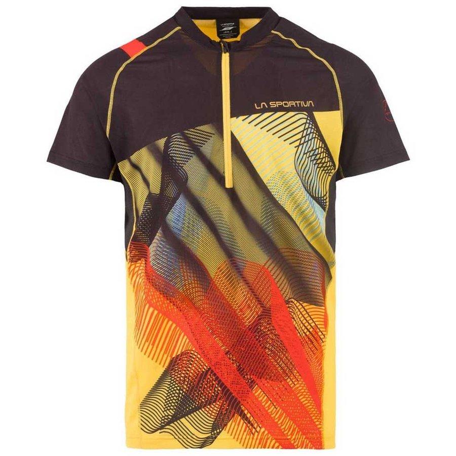 [ スポルティバ ] Xcelerator Tシャツ ( Black / Yellow )