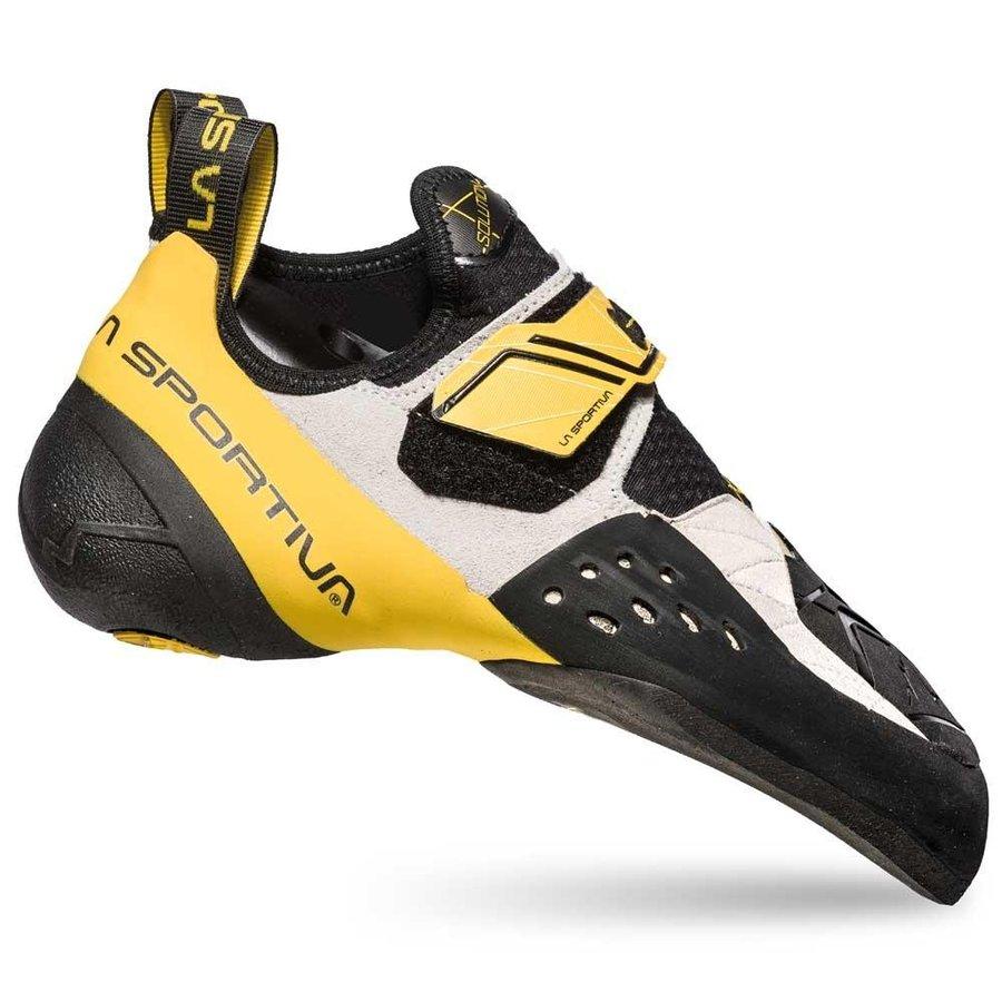 [ スポルティバ ] Solution ( White / Yellow ) ★ ロッククライミング ・ クライミングシューズ ・ ボルダリングシューズ ★