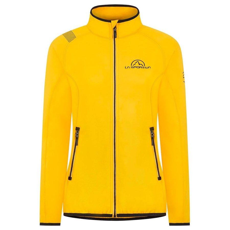 [ スポルティバ ] Promo フリースジャケット レディース ( Yellow / Black )