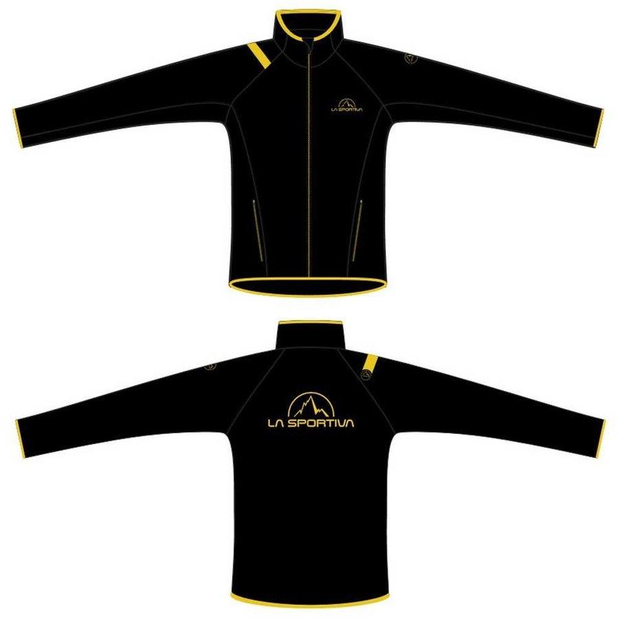 [ スポルティバ ] Promo フリースジャケット レディース ( Black / Yellow )