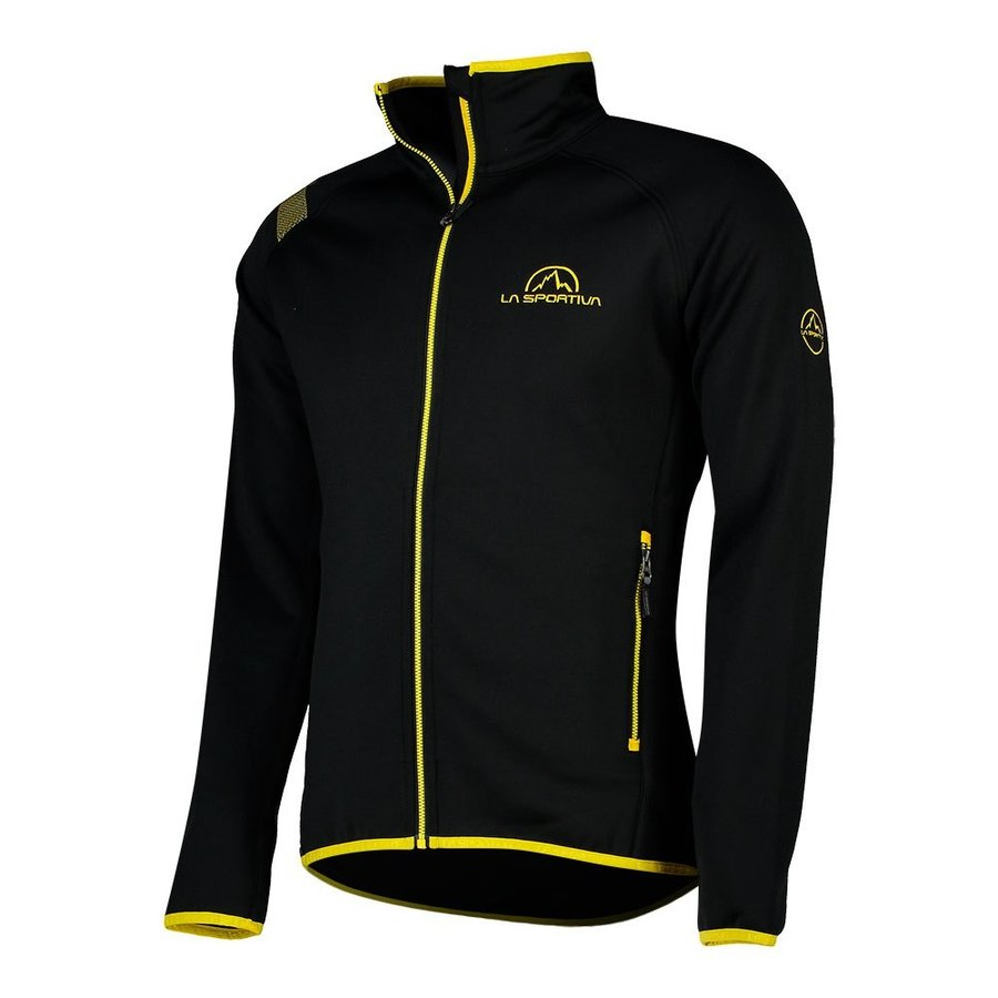 [ スポルティバ ] Promo フリースジャケット ( Black / Yellow )