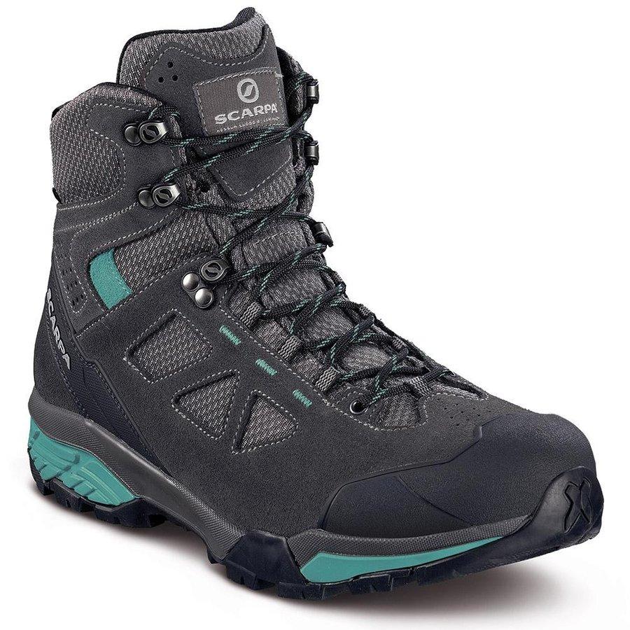 [ スカルパ ] ZG Lite GTX ウーマン ( Dark Gray / Lagoon ) ★ 登山靴 ・ 靴 ・ 登山 ・ アウトドアシューズ ・ 山歩き ★