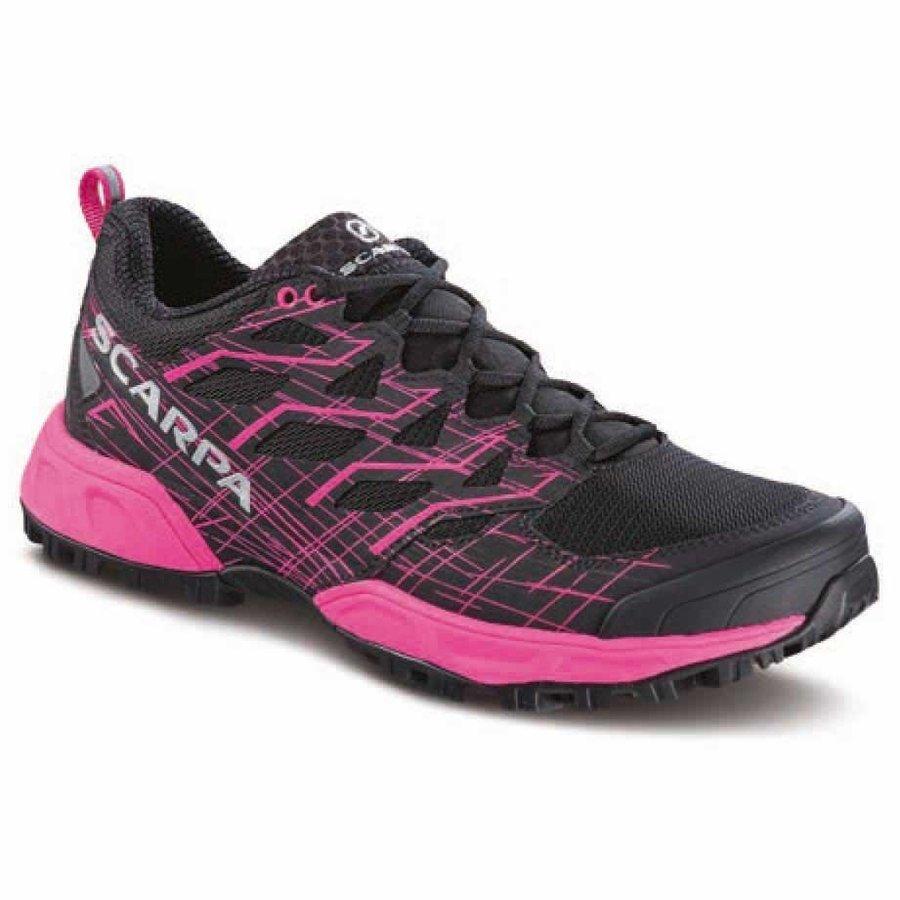 [ スカルパ ] Neutron 2 ウーマン ( Black / Pink Glow ) ★ トレイルラン ・ 山歩き ・ アウトドアシューズ ・ 靴 ・ 登山 ★