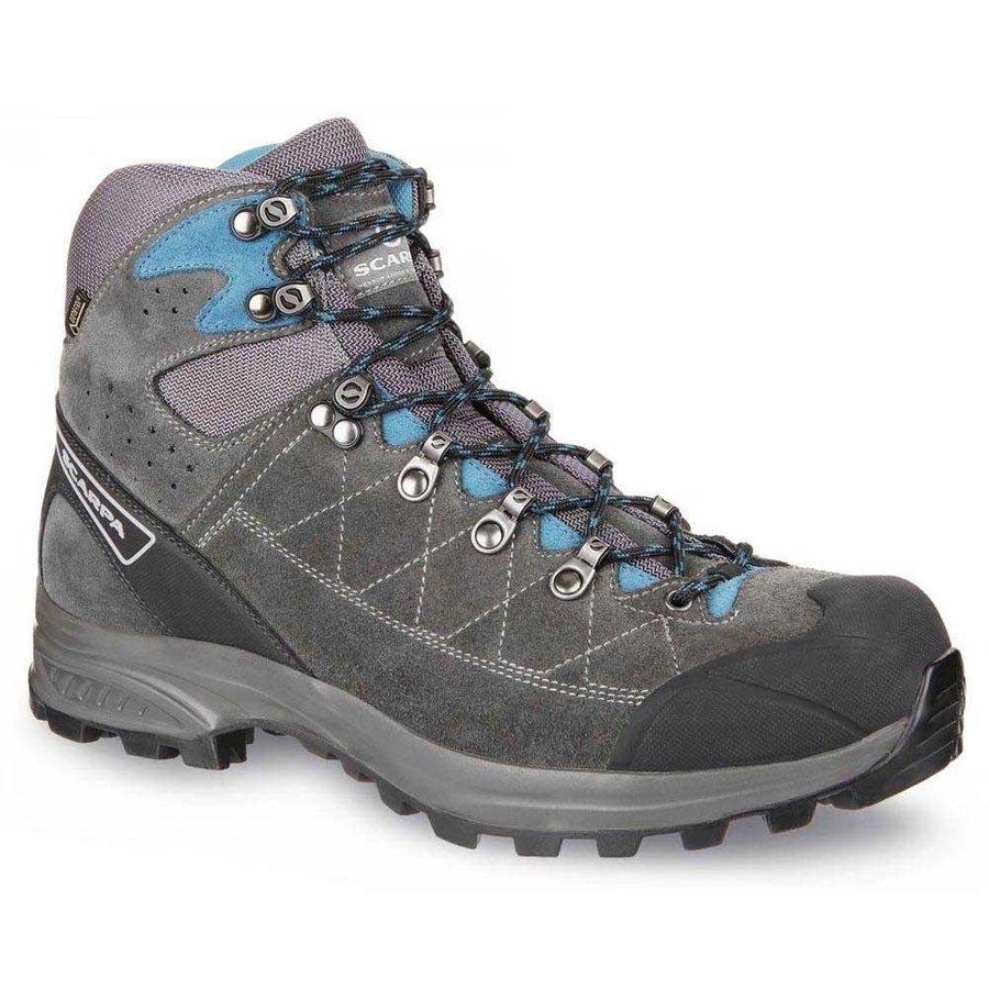 [ スカルパ ] Kailash Trek GTX ( Shark / Gray / Lake Blue ) ★ 登山靴 ・ 靴 ・ 登山 ・ アウトドアシューズ ・ 山歩き ★