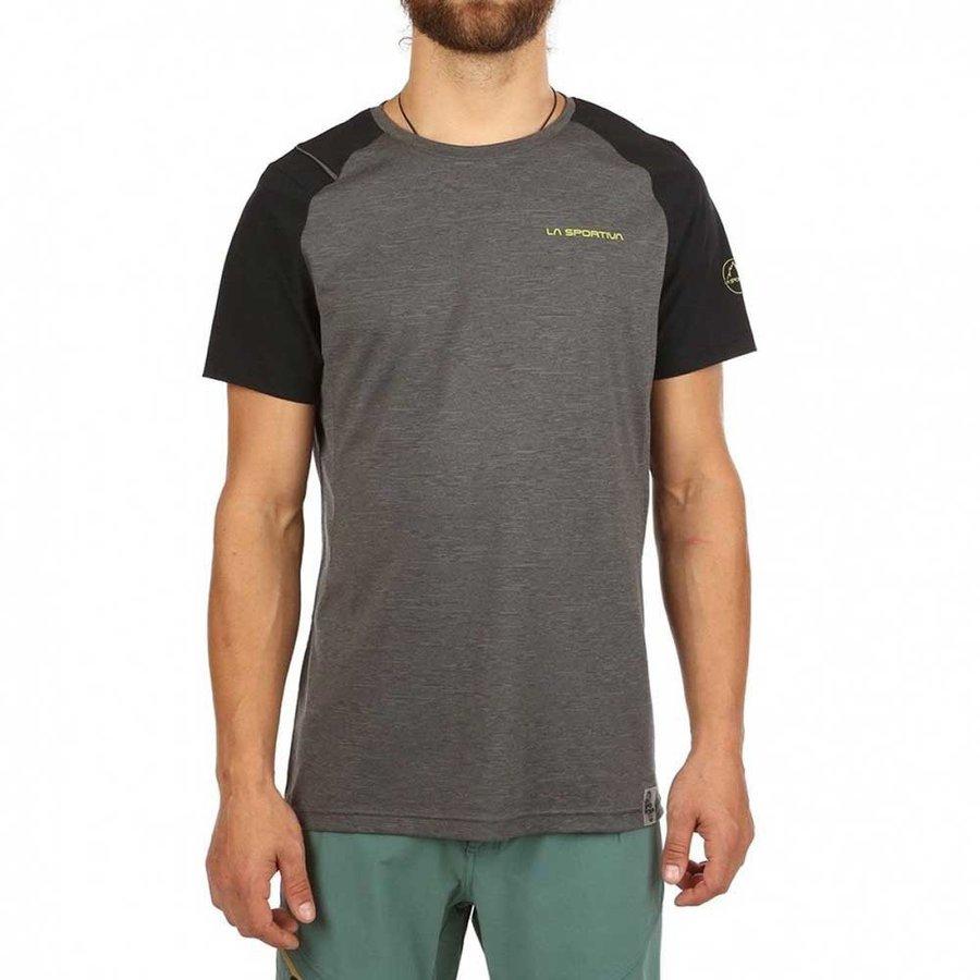 [ スポルティバ ] Stride Tシャツ ( Carbon / Black )