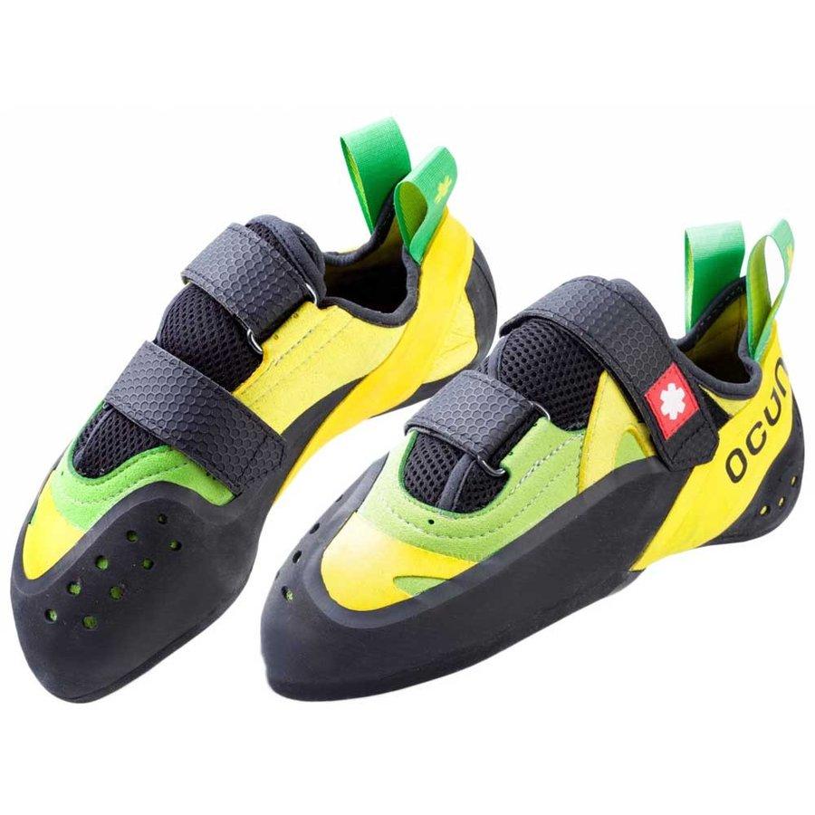 [ オーツン ] Oxi QC ( Black / Yellow / Green ) ★ ロッククライミング ・ クライミングシューズ ・ ボルダリングシューズ ★
