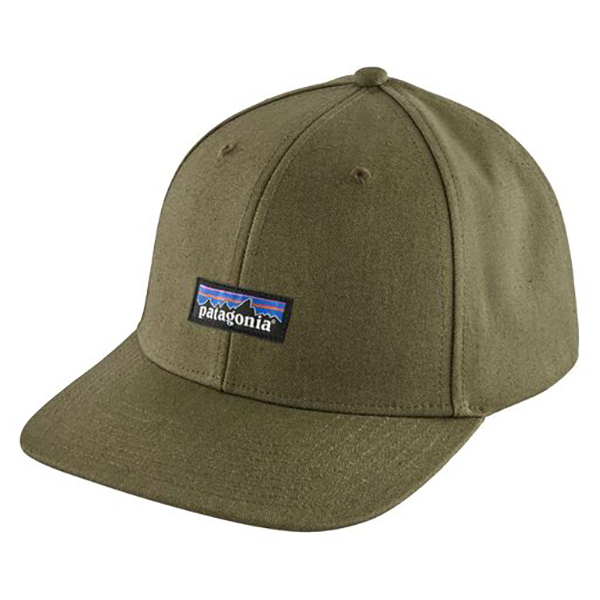 PATAGONIA - Tin Shed Hat 即納 パタゴニア ティン 購買 祝開店大放出セール開催中 ハット シェッド Green Fatigue P-6 Logo