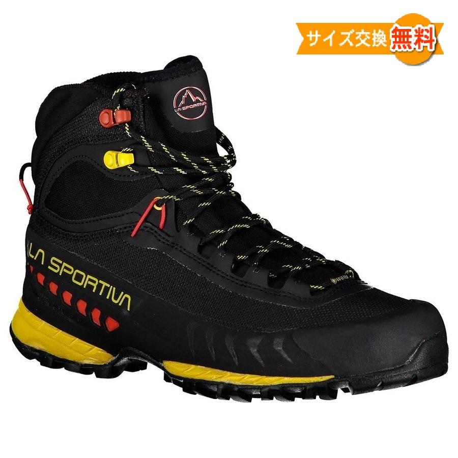 La Sportiva TXS Goretex 即納 スポルティバ GTX 登山靴 最新アイテム アウトドアシューズ 山歩き Yellow 靴 Black 登山 新作通販