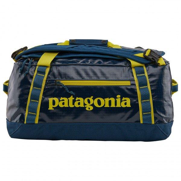 PATAGONIA Black 売店 Hole Duffel 40 パタゴニア ブラックホール 全品最安値に挑戦 Blue 40L Crater ダッフル