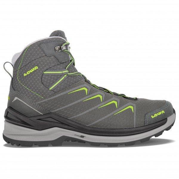 LOWA Ferrox Pro GTX 与え 品質検査済 Mid ローバー Graphite アウトドアシューズ Lime 靴 登山靴 登山 山歩き