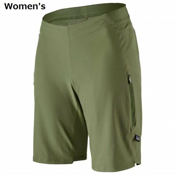 PATAGONIA Women's Tyrollean Bike Shorts パタゴニア ショーツ チロリアン Green ウィメンズ Camp 初売り バイク 買収