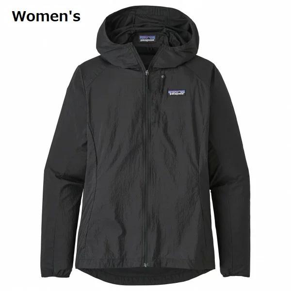 PATAGONIA お得セット - Women's Houdini Jacket 即納 注目ブランド ウィメンズ Black フーディニ ジャケット パタゴニア