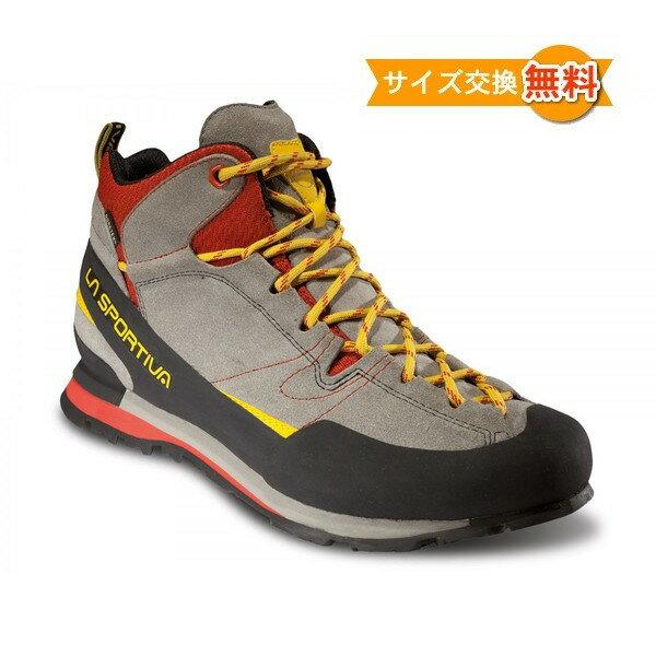 【 即納 】 スポルティバ ボルダーX ミッド GTX ( Grey / Red ) ★ アプローチシューズ ★ 登山靴 ★ アプローチシューズシューズ