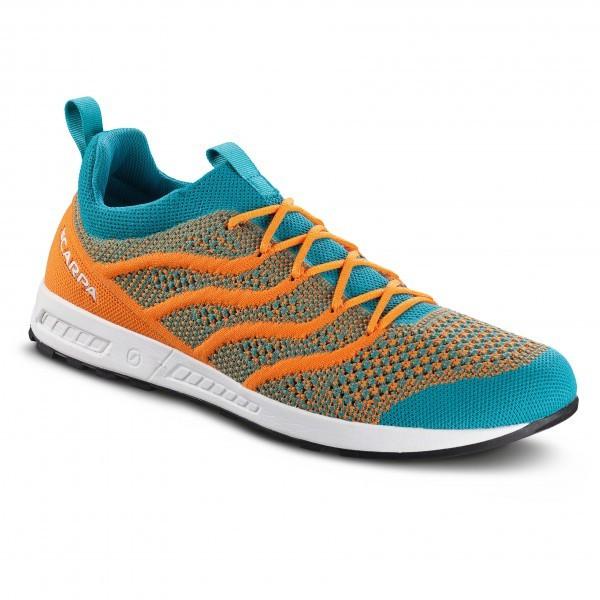 スカルパ Gecko Air Flip(Baltic Blue / Orange)★アプローチシューズ・山歩き・アウトドアシューズ・靴・登山★