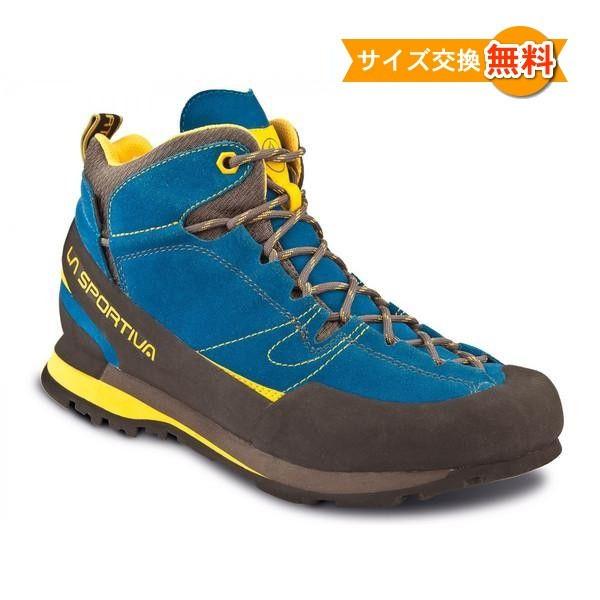 【即納】スポルティバ ボルダーX ミッド GTX (Blue / Yellow)★アプローチシューズ・山歩き・アウトドアシューズ・靴・登山★