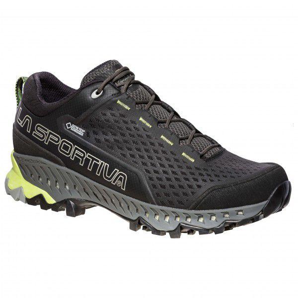 スポルティバ Spire GTX(Carbon / Apple Green)★アプローチシューズ・山歩き・アウトドアシューズ・靴・登山★
