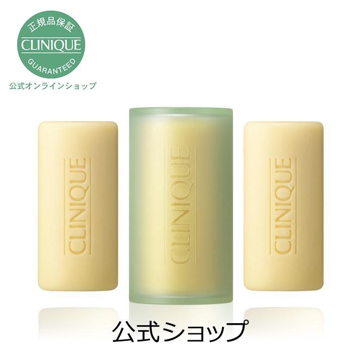 クリニーク Clinique 公式 正規品 送料無料 フェーシャル ソープ 50g x 在庫処分 3 固形 せっけん 人気の定番 CLINIQUE 洗顔料 石けん ギフト 洗顔石鹸