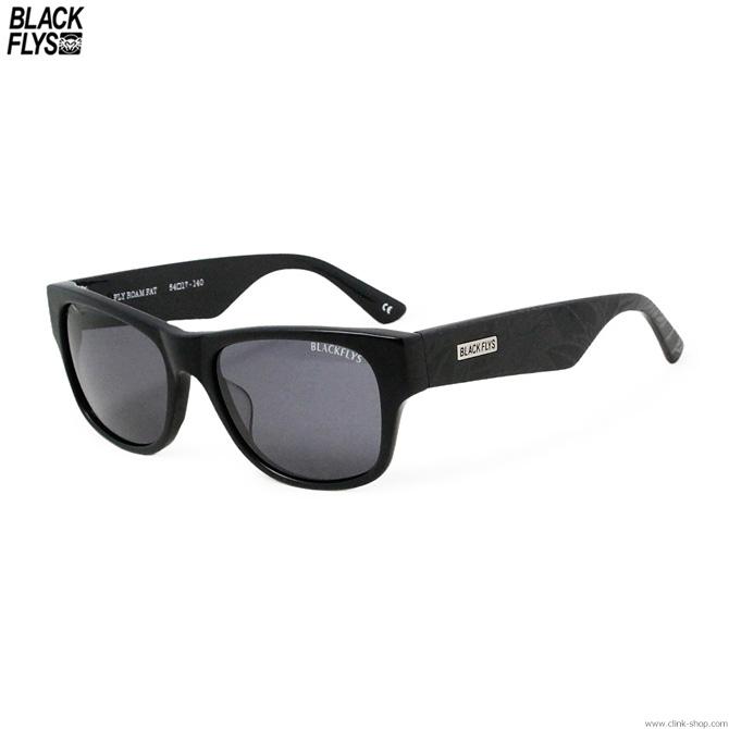 【BLACK FLYS】 ブラックフライズ BLACK FLYS FLY ROAM FAT designed by SADAM [M.BLK-LOTUS/SMK] メンズ アクセサリー サングラス メガネ