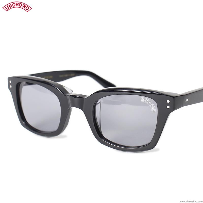 【UNCROWD】 アンクラウド UNCROWD BIG BLUEBIRD (BLACK×GRAY) [UC-035] メンズ アクセサリー サングラス メガネ