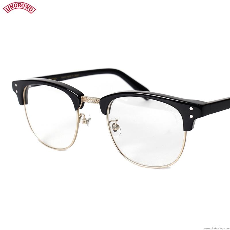 【UNCROWD】 アンクラウド UNCROWD TRUENO (BLACK×CLEAR) [UC-037] メンズ アクセサリー サングラス メガネ