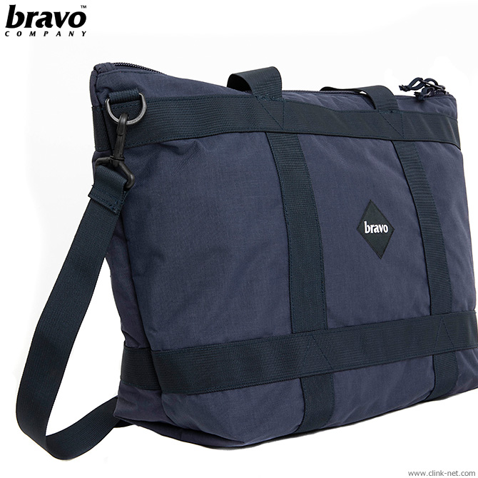 【BRAVO】 ブラボ BRAVO SCOPE BLOCK II (NAVY) #23902 メンズ バック ポーチ