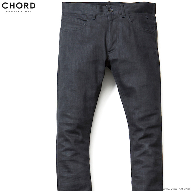 CHORD NUMBER EIGHT NIKKI DENIM PANTS (BLACK) [N8M1G1-PT01] コードナンバーエイト