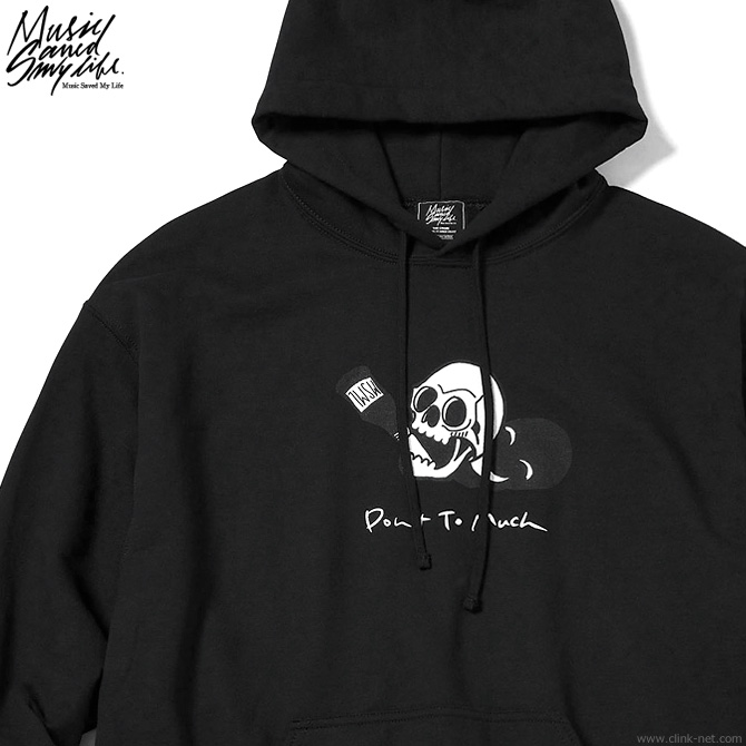 【予約/10月~入荷予定】M.S.M.L.-Katsuma EDITION- DON'T TOO MUCH HOODIE (BLACK) [M201-01K5-CL51]