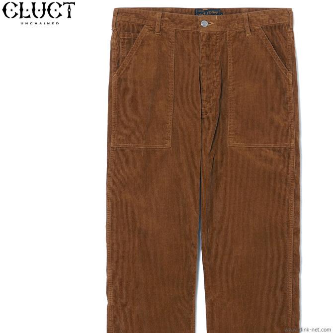 【CLUCT】 クラクト CLUCT CORDUROY BAKER PANTS (BROWN) #03023 メンズ ボトムス パンツ チノ ブラウン