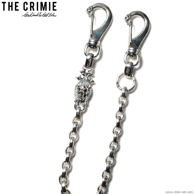 【CRIMIE】 クライミー CRIMIE×B.W.L. ETERNITY WALLET CHAIN 【BILL WALL LEATHER/ビルウォールレザー メンズ アクセサリー ウォレットチェーン