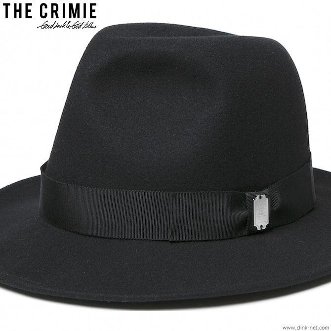 CRIMIE ROLLING HAT (BLACK) [C1H1-CXHT-RH01] クライミー
