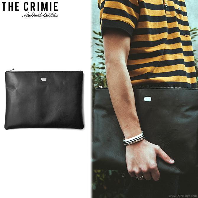 CRIMIE LEATHER CLUTCH BAG [C1H3-AC14] クライミー