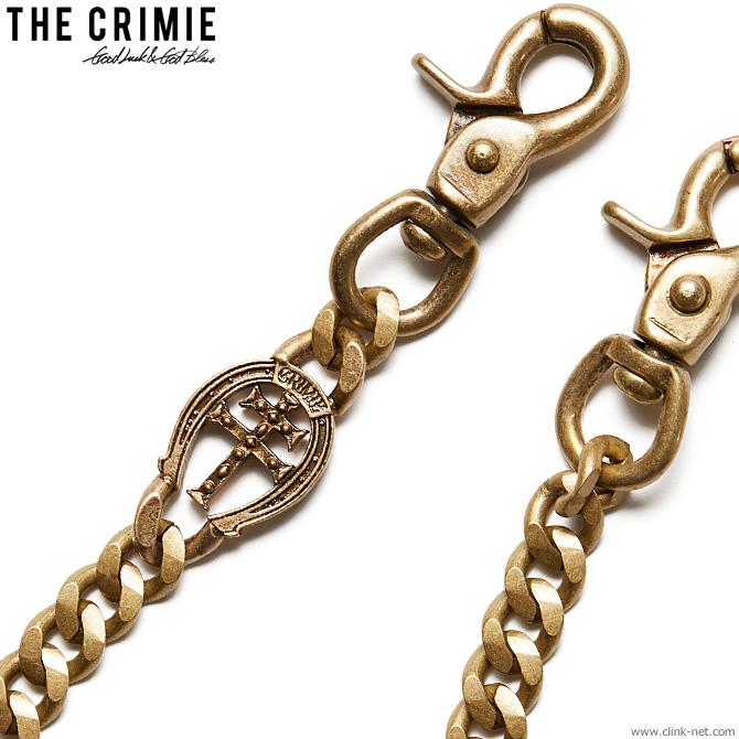 【CRIMIE】 クライミー CRIMIE HORSESHOE WALLET CHAIN (BRASS) [C1H4-AC02] メンズ アクセサリー ウォレットチェーン