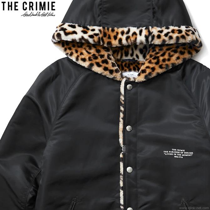 半額 SALE 50%OFF 【CRIMIE】 クライミー CRIMIE LEOPARD BOA HOOD JACKET (BLACK) [CR01-01K5-JK23] メンズ ジャケット アウター アウトドア ブラック スーパーセール!期間・数量限定セール