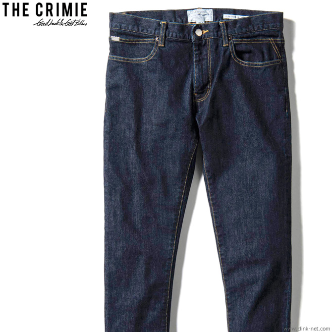 CRIMIE BORN FREE STRETCH SELVEDGE SLIM JEANS (INDIGO) [CRA1-BF1N-PT01] クライミー デニムパンツ
