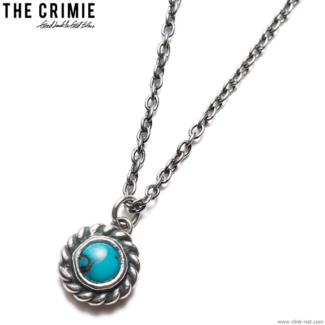 CRIMIE G & G TURQUOISE NECKLACE [C1H3-CXAG-GN03] クライミー