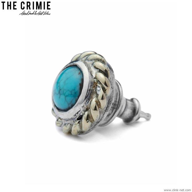 【CRIMIE】 クライミー CRIMIE STONE 10K GOLD PIERCE (BLUE) [CRA1-JW10-SP01] メンズ アクセサリー ピアス