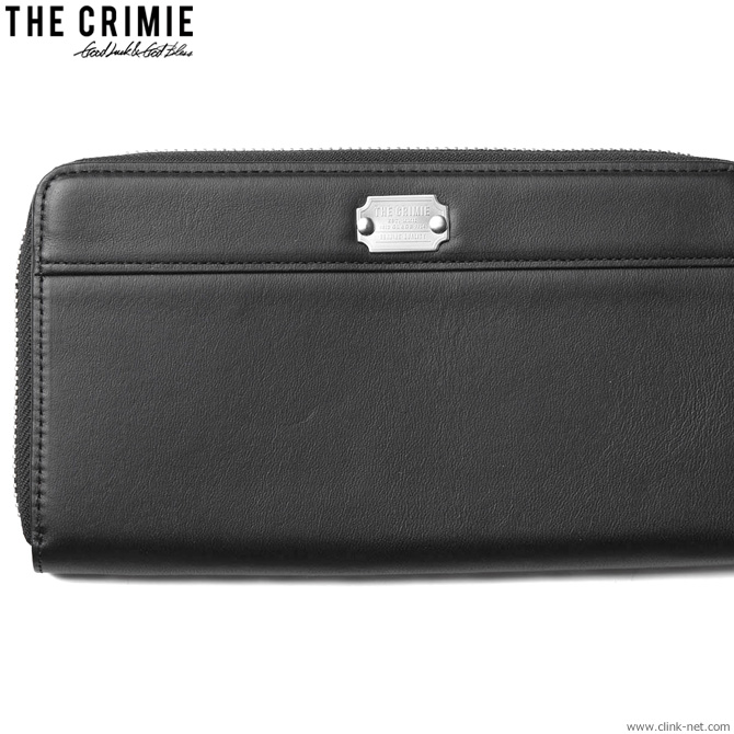 【CRIMIE】 クライミー CRIMIE ZIP LONG WALLET (BLACK) [CRA1-WB01-WT01] メンズ アクセサリー ウォレット 財布 レザー