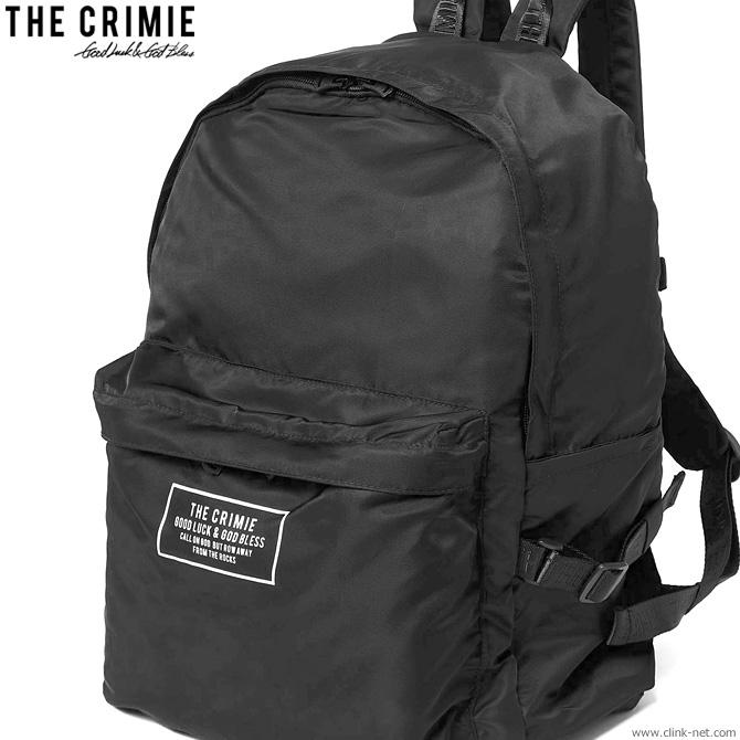 【CRIMIE】 クライミー CRIMIE PACKABLE DAY BAG (BLACK) [CRA1-WBTR-BG03] メンズ バック バックパック