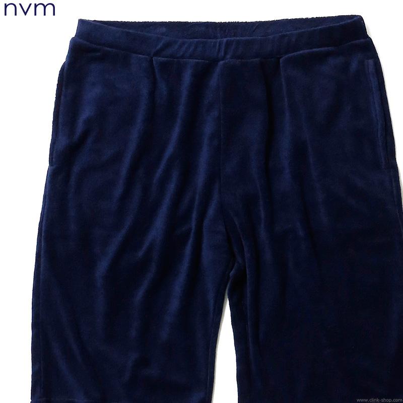 【NVM】 エヌブイエム NVM PILE RELAX SP [NVM16S-PT03] メンズ ボトムス パンツ ショート ネイビー