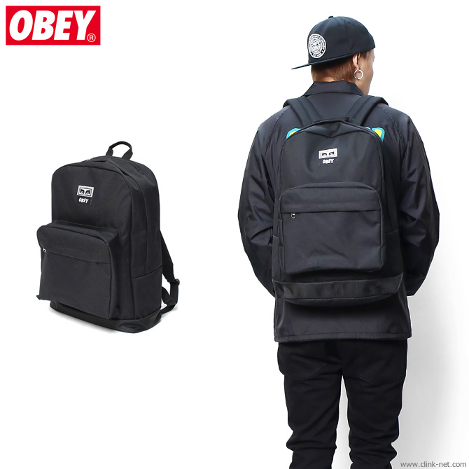 【OBEY/オベイ】OBEY DROP OUT JUVEE BACKPACK (BLACK)