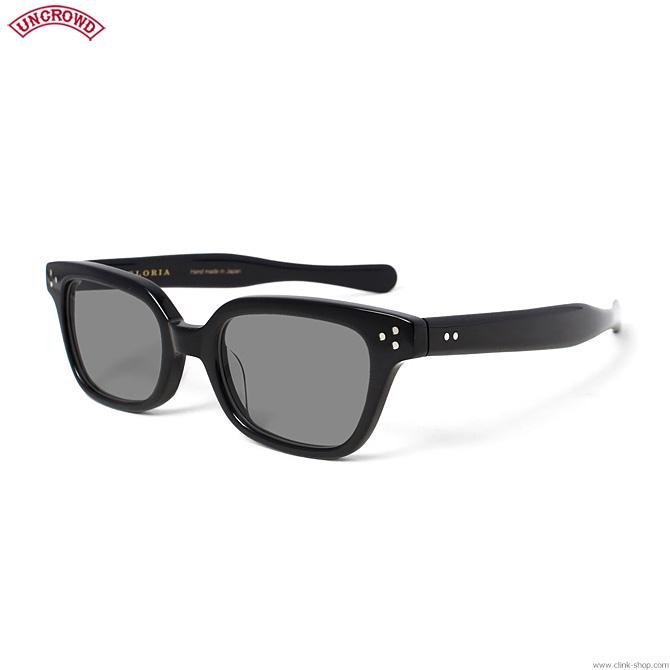 【UNCROWD】 アンクラウド UNCROWD GLORIA (BLACK×SMOKE) [UC-024] メンズ アクセサリー サングラス メガネ
